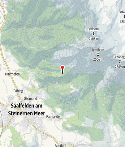 Karte / Steinalm