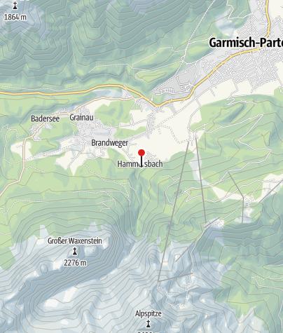 Karte / Hammersbacher Hütte