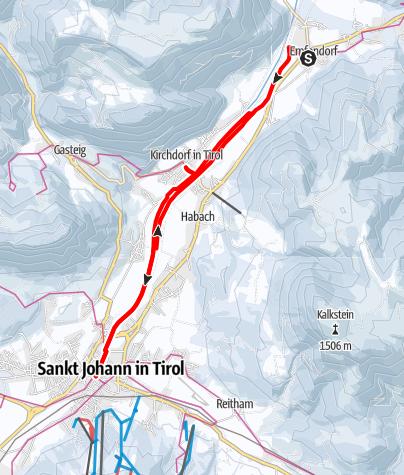 Map / Flusserlebnisweg entlang der Großache