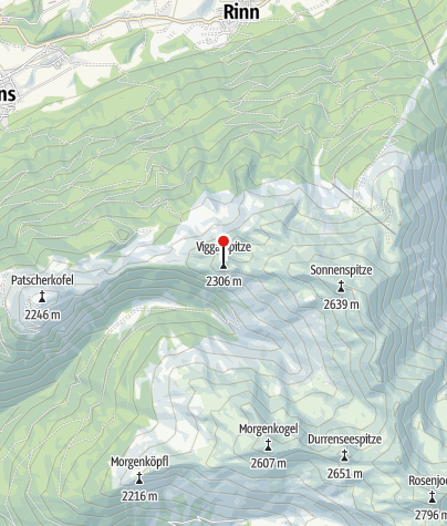 Karte / Viggarspitze (2.306m)