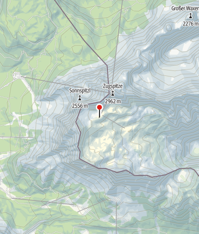Karte / Gletscherrestaurant SonnAlpin