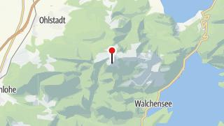 Karte / Heimgarten-Hütte