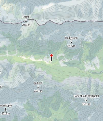 Karte / Tillfußalm