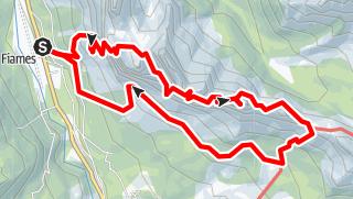 Karte / Fiames-Punta Fiames-Terza Cengia