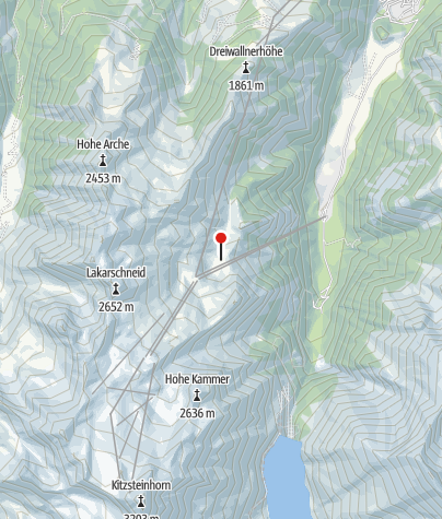 Karte / Salzburger Hütte