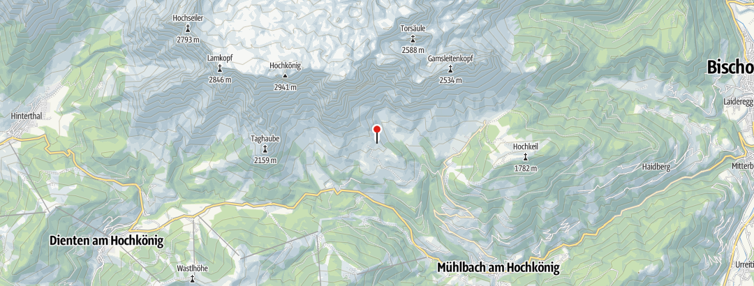 Karte / Schartenhütte