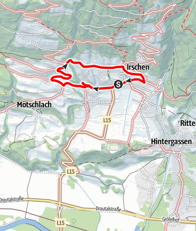 Karte / Kräuterdorf-Rundwanderung
