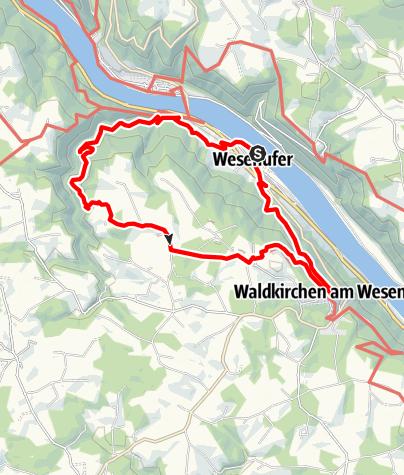 Karte / Waldkirchen: 4/4-Blick-Runde