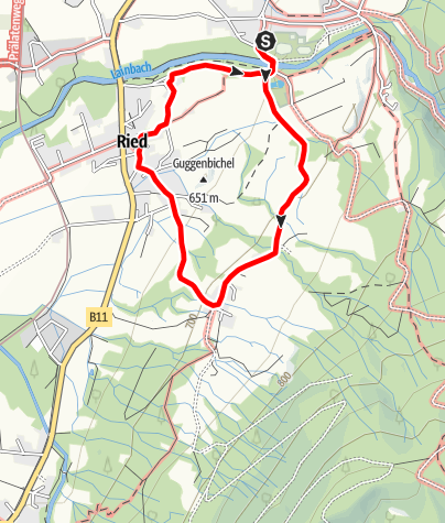 Karte / Pfisterberg-Höhenwanderung
