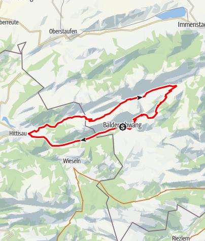 Karte / Leckner Tal - Runde