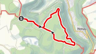 Karte / Zum Schloss Lichtenstein nahe Reutlingen