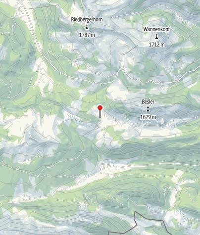 Karte / Alpe Dinjörgen