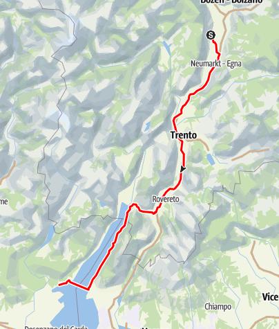 Karte / Transalp-2009-Abel-E4