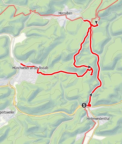 Karte / Im Gräfensteinerland
