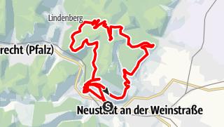 Karte / Panoramatour auf das Weinbiet bei Neustadt