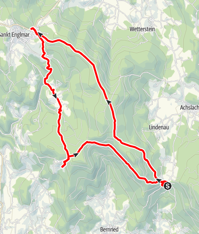 Karte / Kalteck - St. Englmar - Grandsberg