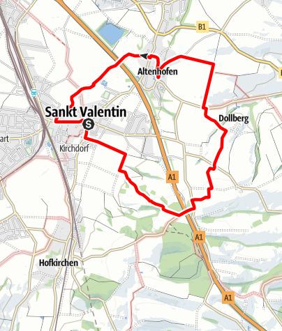 Karte / AV Weg Nr.1