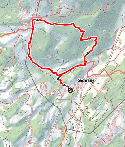 Karte / Zum Spitzsteinhaus