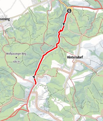 Karte / Hagenbachklamm