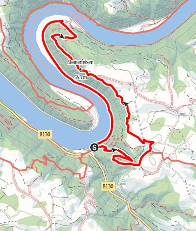 Karte / Haibach: CICONIA-Rundweg