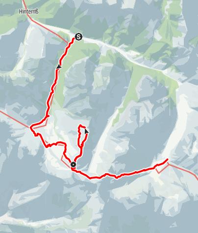 Map / Mahnkopf – zwischen Lalidererwänden und Ahornboden (Zweitagestour)