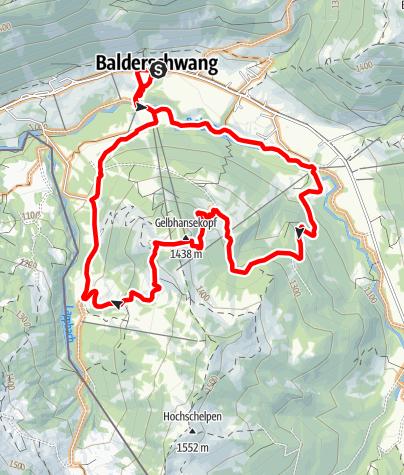 Karte / Gelbhansekopf - Runde