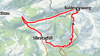Karte / Sättele - Runde