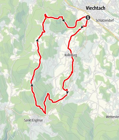 Karte / Pröller Tour