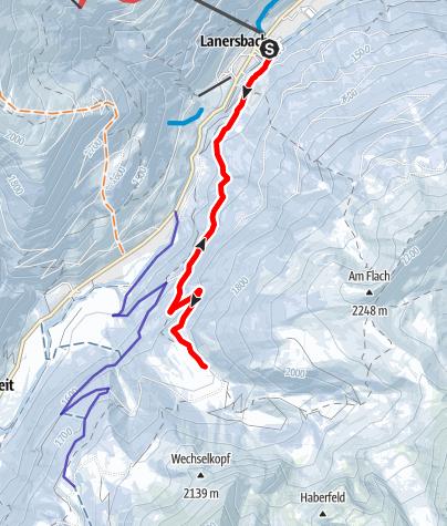 Karte / Rodeltour zur Höllensteinhütte im Zillertal