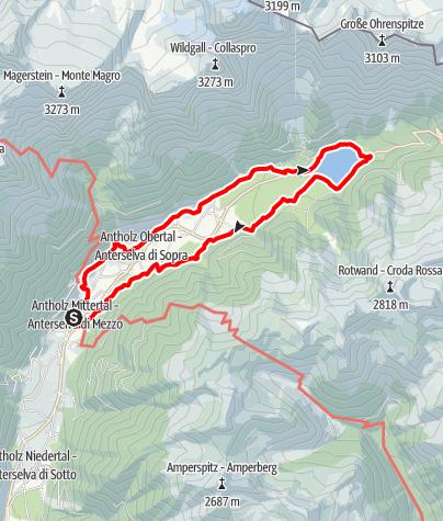 Karte / Um den Antholzer See