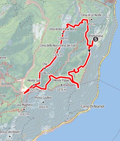 Karte / 30_Cimabal_11km_1100hm