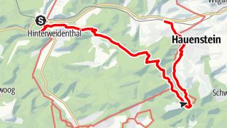 Map / Malerische Flusstäler