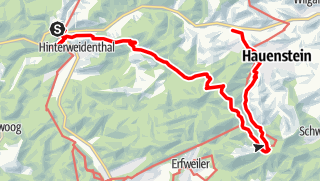 Karte / Malerische Flusstäler