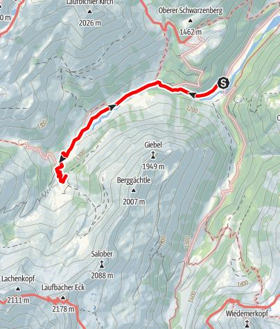 Karte / Obertal