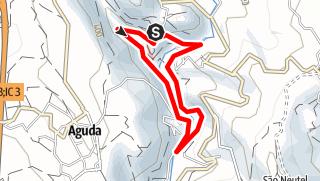 Karte / PR1 FVN Caminho do Xisto de Casal de S. Simão