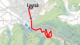 Karte / PR1 LSA Caminho do Xisto da Lousã 1