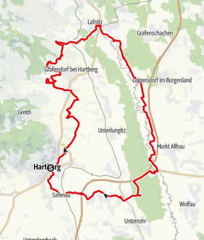 Karte / Stadtführung mal anders - mit dem Mountainbikeguide durch die Region