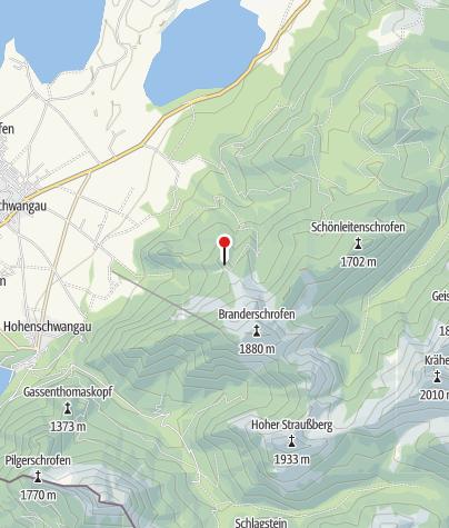 Map / Rohrkopfhütte