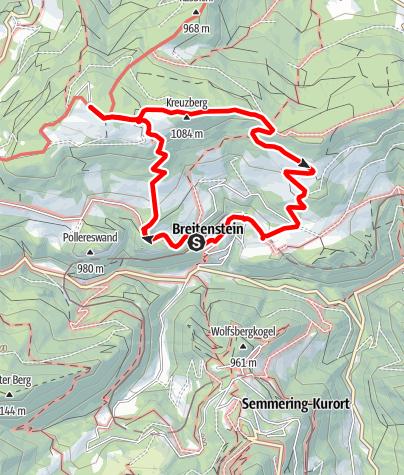 Karte / Breitenstein- Kleine Breitenstein-Runde