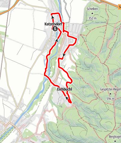 Karte / Katzelsdorfer Kulturwanderweg (KA 3)
