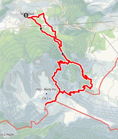 Karte / Über den Gamssteig