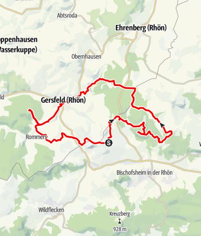 Karte / Schluchtentour