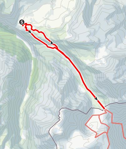 Karte / Lac de Savine - Col du Clapier