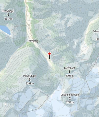 Karte / Gletscherstube