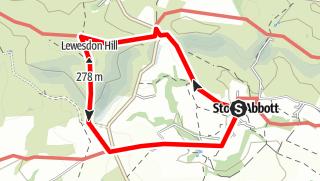 Karte / CTUK Day 55 - Lewesdon Hill (Dorset)