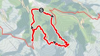 Karte / Cascade d'Ars et de Fouillet
