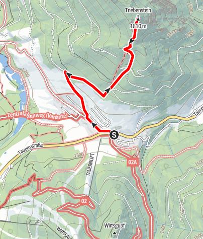Karte / Triebenstein