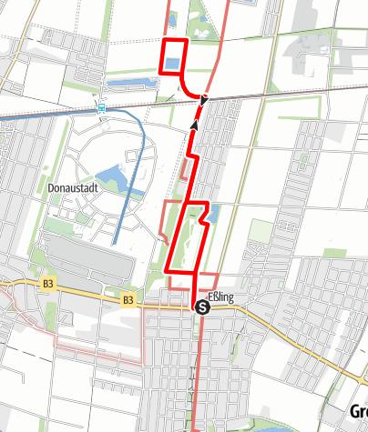 Karte / Essling - Himmelteich