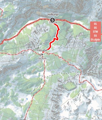 Karte / Reitsteig