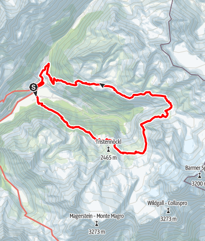 Karte / Auf dem Arthur-Hartdegen-Weg